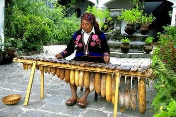 Origen de la marimba